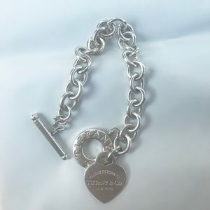 Please Return To Tiffany heart toggle bracelet